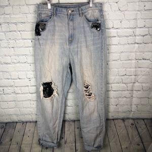 BDG Embellished Jeans